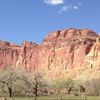 Photo taken at Capitol Reef National Park by Alan C. on 5/2/2013