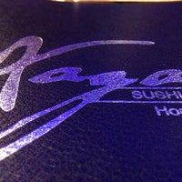 Photo taken at Xaga Sushi & Asian Fusion by Zack L. on 8/24/2013