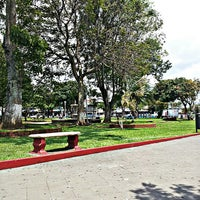 Photo taken at Parque de Guadalupe by Heyner V. on 6/17/2013