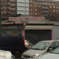 Photo taken at Mercato comunale di Piazza Wagner by Vicente R. on 2/16/2014