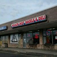 Photo taken at Nyack Hot Bagels & Deli by Sherwin R. on 11/26/2015