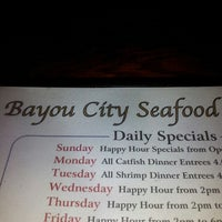 Photo taken at Bayou City Seafood & Pasta by Shelby K. on 4/14/2013