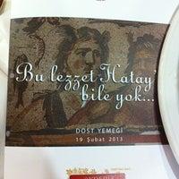 2/19/2013 tarihinde Bülent K.ziyaretçi tarafından Akdeniz Hatay Sofrası'de çekilen fotoğraf