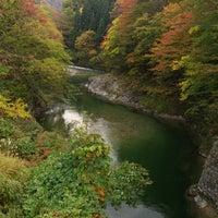 Photo taken at 鳥谷橋 by Yenchang on 10/19/2014
