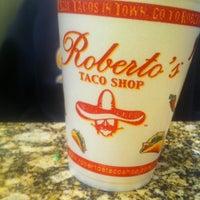 Photo taken at Roberto's Taco Shop by Armina L. on 1/12/2013