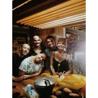 Photo taken at Dominica Hostel by Caio F. on 12/25/2014