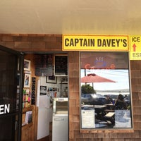 Photo taken at Captains Daveys Ice Cream & Espresso by Kristina A. on 3/25/2016