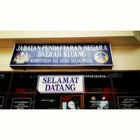 Photo taken at Jabatan Pendaftaran Negara by Apai T. on 6/23/2014