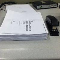 Photo taken at NYU Third North Printing Center by Sage Y. on 12/10/2012