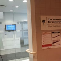 8/9/2013にSage Y.がNYU Wasserman Center for Career Developmentで撮った写真