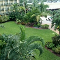 Photo taken at DoubleTree by Hilton Hotel and Executive Meeting Center Palm Beach Gardens by Carrie C. on 9/25/2012