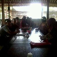 """Photo taken at Pondok Pemancingan """"SEKAR KUSUMA"""" by arie k. on 9/29/2013"""