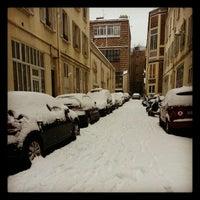 Photo taken at Square Pierre-Adrien-Dalpayrat by 6 on 1/21/2013