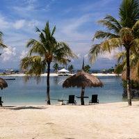 Photo taken at Bluewater Maribago Beach Resort by Clair C. on 7/10/2013