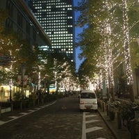 Photo taken at 丸の内仲通り by Sho S. on 11/13/2012