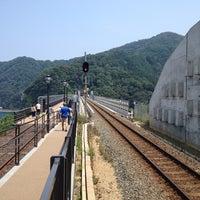 Photo taken at Amarube Station by なかりゃ な. on 8/10/2013