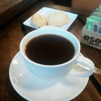 Photo taken at Biscuit Factory Café Bistro by Alvaro C. on 3/23/2015