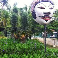 Photo taken at Taman Air Stadion Manahan Solo by Ranu S. on 2/7/2013
