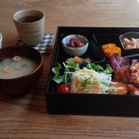 Photo taken at てづくり菜宴 あ×う by Sampei N. on 4/8/2014