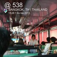 Photo taken at BMTA Bus 538 by Civilize  Satellite ( E22HPS ) on 3/1/2013