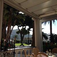 Photo taken at Quisisana Grand Hotel by Ebru D. on 9/21/2013
