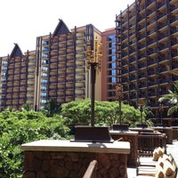 Photo taken at Aulani, A Disney Resort & Spa by Greg T. on 7/7/2013