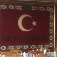 Photo taken at Ankara Restaurant by Ercument T. on 12/29/2012