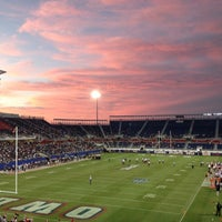 Photo taken at FAU Football Stadium by Patrina T. on 10/27/2012