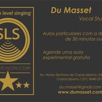 Photo taken at Du Masset - Vocal Studio by Du M. on 11/21/2013