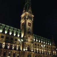 Photo taken at Hamburger Rathaus by Mini S. on 10/13/2012