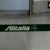 Photo taken at Alitalia Check-in by Nikos S. on 3/1/2017