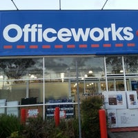 Photo taken at Officeworks by Amadea S. on 2/15/2013
