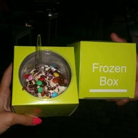 Photo taken at Frozen Box by Simona V. on 9/10/2015