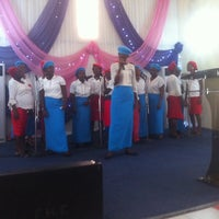 Photo taken at The Emmanuel Minitries (Family Harvest Church) by Yemmie O. on 8/16/2014