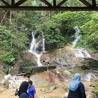 Photo taken at Kanching Waterfall by Izat Z. on 2/1/2017