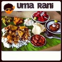 Photo taken at Restoran Uma Rani by Eyrique G. on 5/21/2013