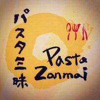 Photo taken at Pasta Zanmai by Eyrique G. on 11/4/2012