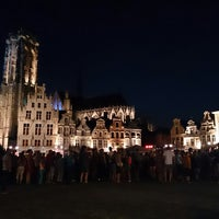 Photo taken at Grote Markt by Carine V. on 7/21/2013