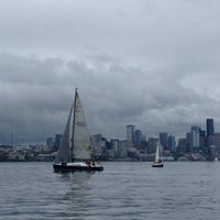 Photo taken at Elliott Bay Marina by Tricia N. on 6/21/2013