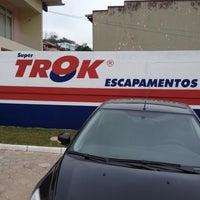 Photo taken at Trok Escapamentos by Felipe H. on 8/31/2013