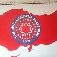 Photo taken at Tüm Sivil İnisiyatif Platformu Genel Merkezi by 'vA' Volkan A. on 7/15/2013