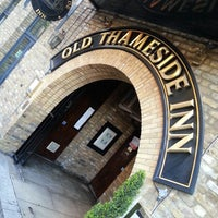 Photo taken at Old Thameside Inn by Ian on 5/31/2013