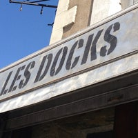 Photo taken at Les Docks by Chrissie M. on 8/23/2013