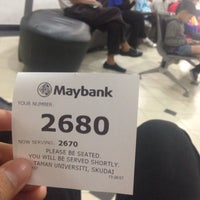 Photo taken at Maybank by Shahril M. on 9/7/2015
