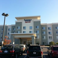 Photo taken at Fairfield Inn & Suites by Marriott New Braunfels by Andrew G. on 11/18/2012
