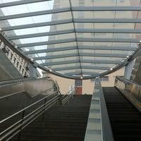 Photo taken at Pershing Square Metro Station by LT B. on 1/25/2013