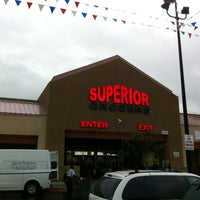 Photo taken at Superior Grocers by LT B. on 11/17/2012