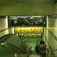 Photo taken at 7th St/Metro Center (Julian Dixon) Metro Station by LT B. on 7/10/2013