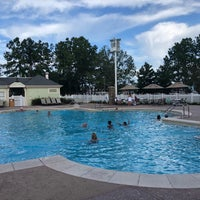 Photo taken at Congress Park Pool by Charlie M. on 8/16/2018