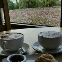 Photo taken at Castle Stalker View Cafe by Patricia R. on 6/23/2016